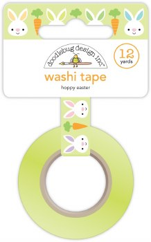 Hoppy Easter Washi Tape- Hoppy Easter