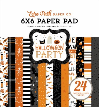 Halloween Party 6x6 Paper Pad