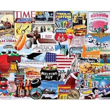I Love America - 1,000 Piece Puzzle