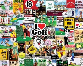I Love Golf - 1,000 Piece Puzzle