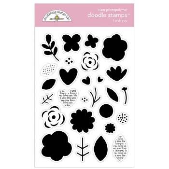 Love Notes Stamp/Dies- I Pick You Doodle Stamps