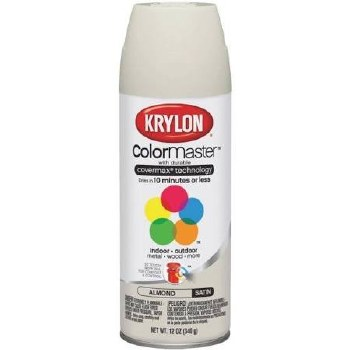 Krylon Indoor/Outdoor 12oz Spray Paint- Gloss, Almond