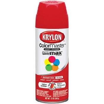 Krylon Indoor/Outdoor 12oz Spray Paint- Gloss, Banner Red