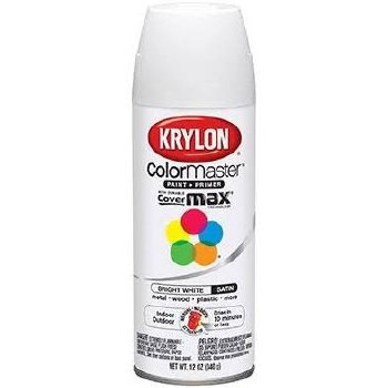 Krylon Indoor/Outdoor 12oz Spray Paint- Gloss, Bright White