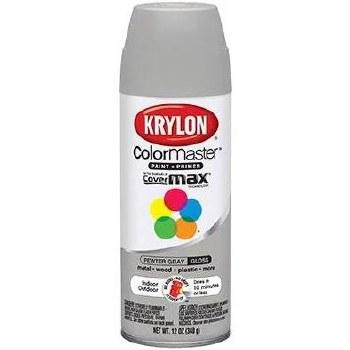 Krylon Indoor/Outdoor 12oz Spray Paint- Gloss, Pewter Gray
