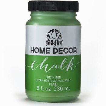 FolkArt Home Decor Chalk Paint 8 oz- Irish