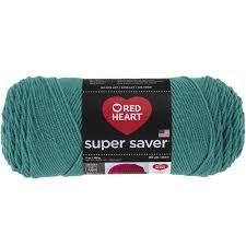 Red Heart Super Saver Yarn- Jade