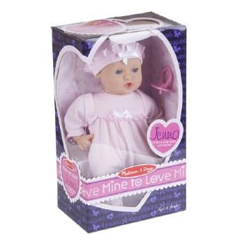 "Melissa & Doug Mine to Love 12"" Doll- Jenna"