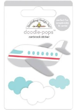I (Heart) Travel Doodle-Pops- Jet Set