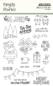 Jingle All the Way Clear Stamps