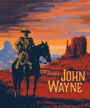 Licensed Fabric Panel- John Wayne