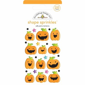 Candy Carnival Shape Sprinkles- Jolly Jack-O-Lanterns