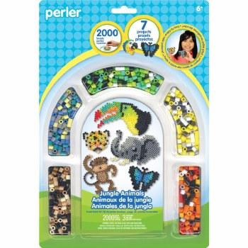 Perler Beads Kit- Jungle Animals
