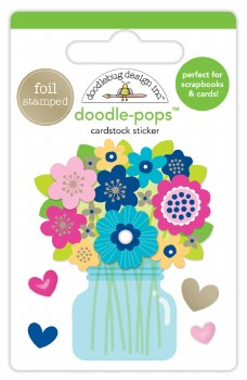 Hello Doodle-Pops Stickers- Just Because
