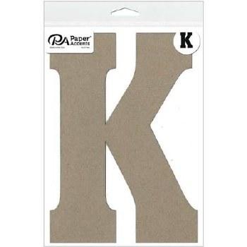 """8"""" Chipboard Letter- K"""