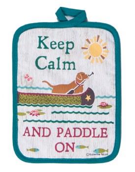 KayDee Designs Potholder- Keep Calm