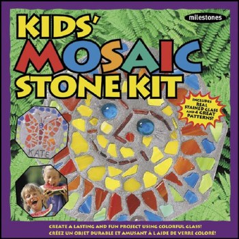 Stepping Stone Kit for Kids- Mosiac
