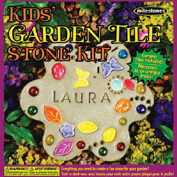 Stepping Stone Kit- Kid's Garden Tile