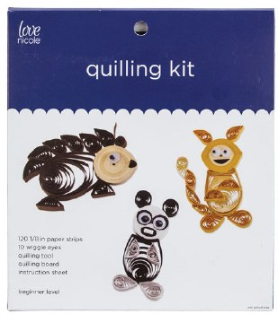 Quilling Kit- Animals