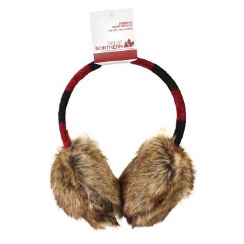 Great Northern Buffalo Check Ladies Earmuffs