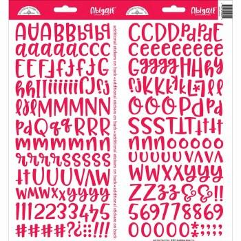 Abigail Alphabet Sticker- Ladybug