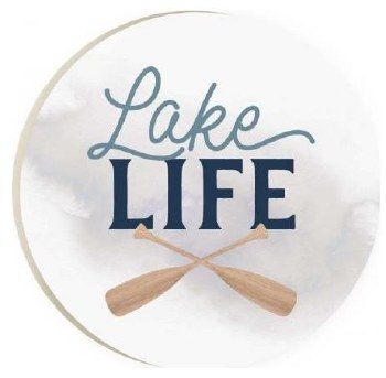Car Coaster- Lake Life