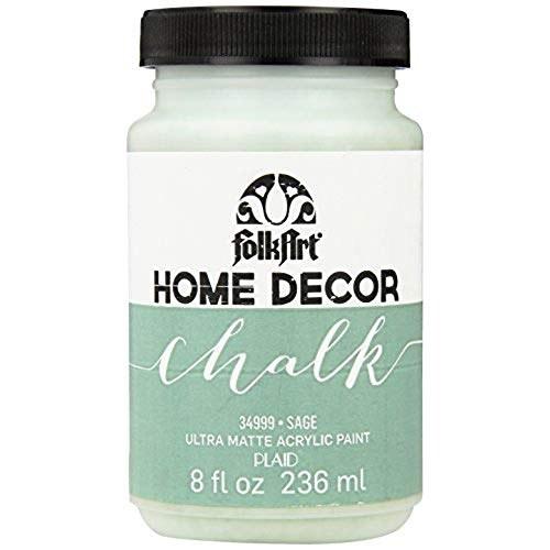 Folkart Home Decor Chalk Paint 8 Oz Sage Crafts Direct