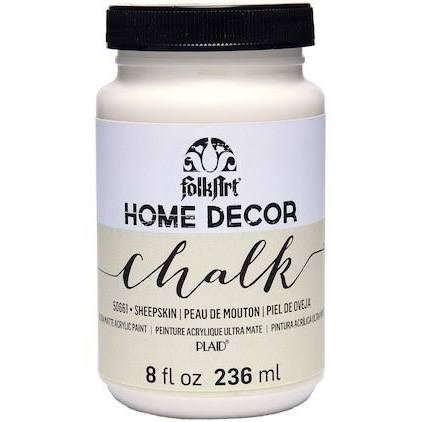Folkart Home Decor Chalk Paint 8 Oz Sheepskin Crafts Direct