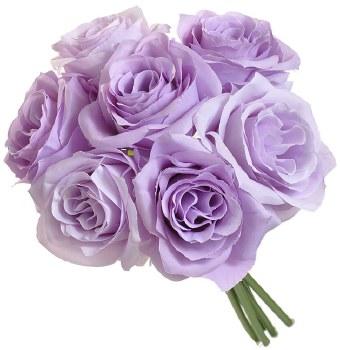 Ashley Rose Wedding Bouquet- Lavender