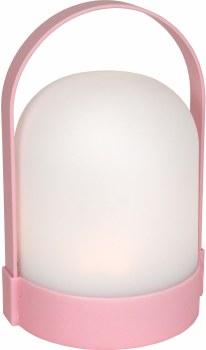 LED Plastic Lantern- Pink
