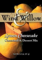 Wind & Willow Cheeseball & Dessert Mix- Lemon Cheesecake
