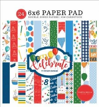 Let's Celebrate 6x6 Paper Pad