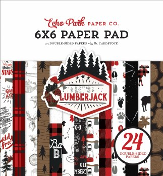 Let's Lumberjack 6x6 Paper Pad