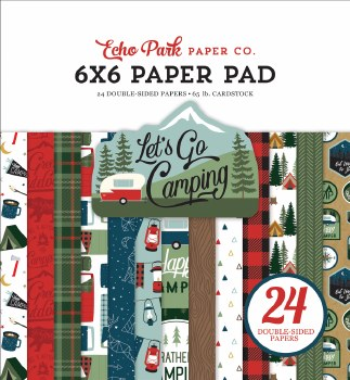 Let's Go Camping 6x6 Paper Pad