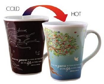 Color Changing Story Mug- Life