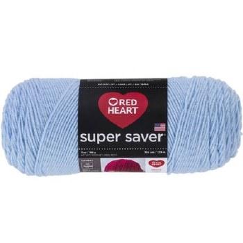 Red Heart Super Saver Yarn- Light Blue