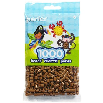 Perler Beads 1000 piece- Light Brown