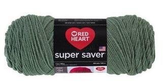 Red Heart Super Saver Yarn- Light Sage