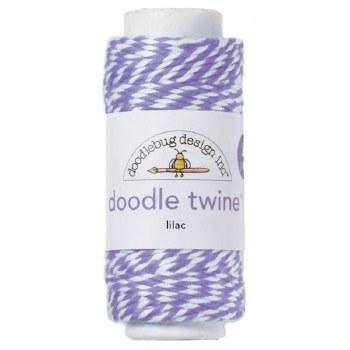 Doodlebug Doodle Twine- Lilac