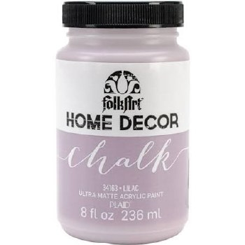 FolkArt Home Decor Chalk Paint 8 oz- Lilac