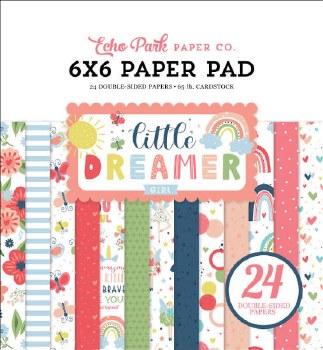 Little Dreamer Girl 6x6 Paper Pad