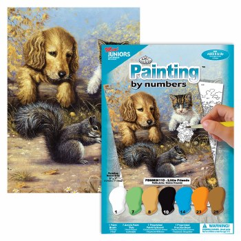 Painting by Numbers Set- Little Friends