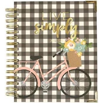 Carpe Diem Spiral Planner, Aug 2019-Dec 2020- Live Simply
