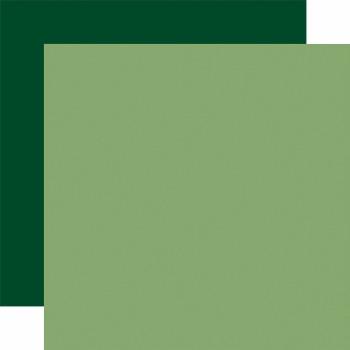 Away in a Manger 12x12 Solid Paper- Lt. Green/ Dk. Green