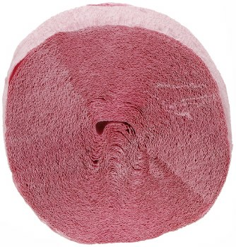 81' Light Pink Crepe Streamer