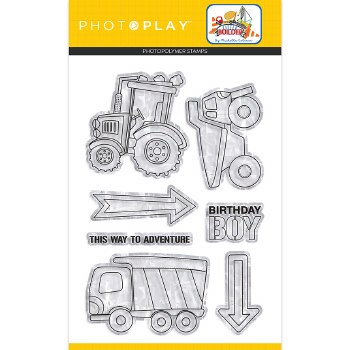 Little Builder Stamp/Dies- Clear Stamps