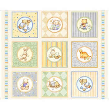 Kids & Baby Fabric Panel- Lullaby