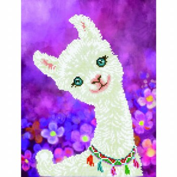 Diamond Facet Art Kit- Lulu Llama