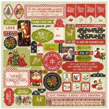 A Magical Christmas Sticker Sheet