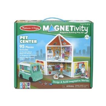 Magnetivity Magnetic Building Play Set- Pet Center